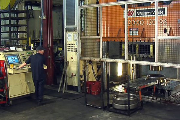 2000-Ton Press Capability