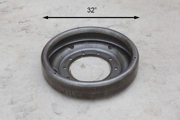 Stamped Tank Wheel