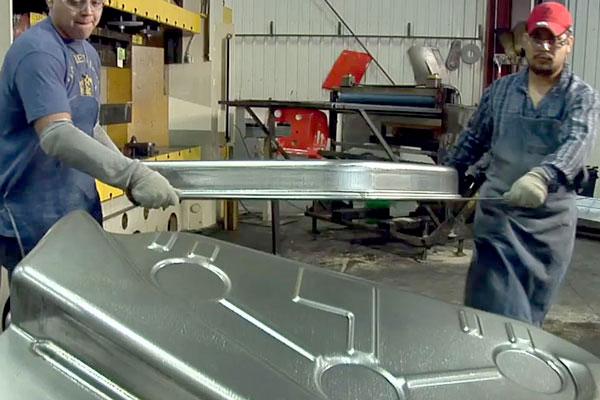 1,000 Ton Mower Deck