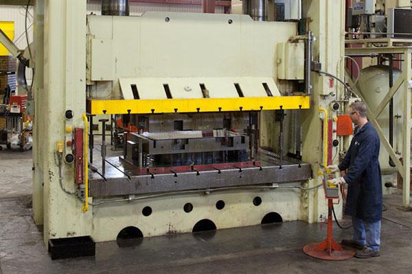 Precision Metal Stamping Capabilities | D&H Industries
