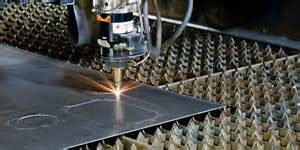 laser cutting plate steel